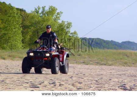 The Lake Michigan Beach Police