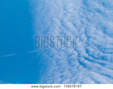 Surface Sky Filled With Clouds.