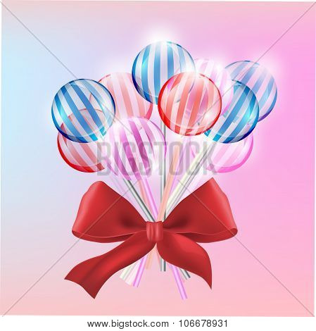 Lollypops illustration  vector