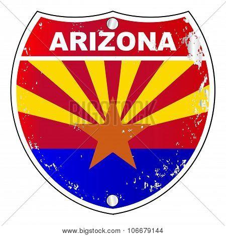 Arizona Interstate Sign