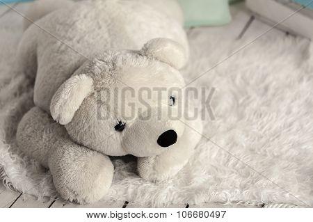 White Soft Toy Bear