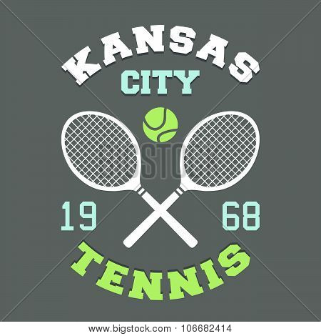Kansas City Tennis T-shirt