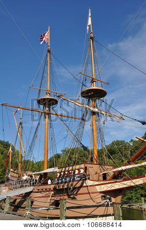 Replica of the Susan Constant in Jamestown, Virginia