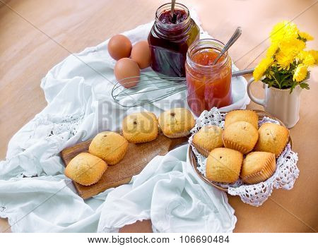 Delicious muffin cakes