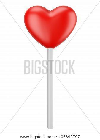 Heart Candy Lollipop.