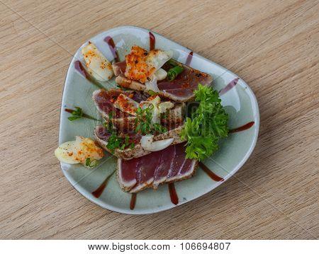 Roast Tuna Steak