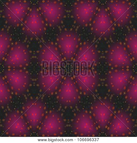 Purple black kaleidoscope decorative tileable sidebar