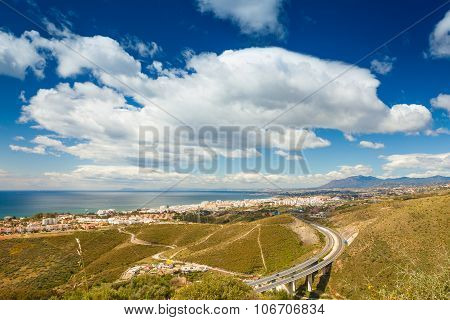 Marbella From A Hill