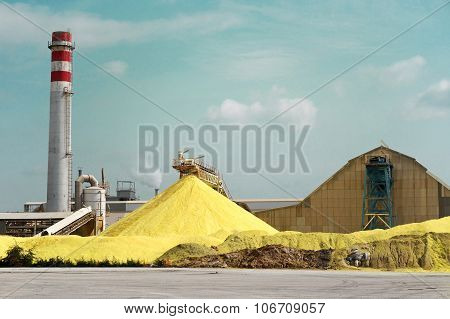 Sulfur Factory