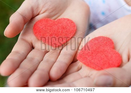 Two Hearts In Hands