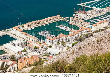 Quensway Quay Marina, Gibraltar