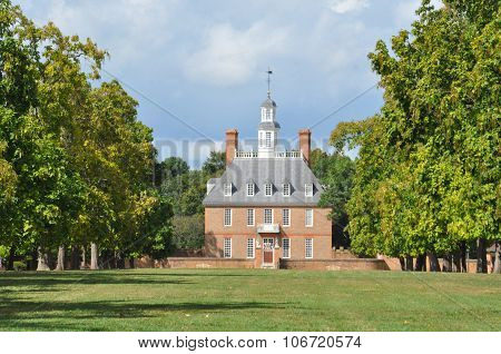 Governors Palace in Wlliamsburg, Virginia