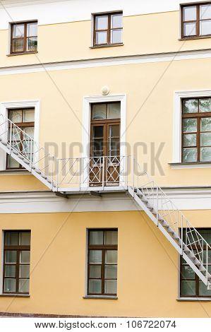 old building . Belarus