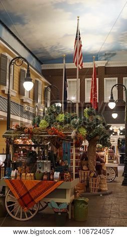 Yankee Candle Village in Williamsburg, Virginia