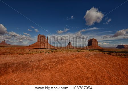 Famous Landmark In The United States: Monument Valley