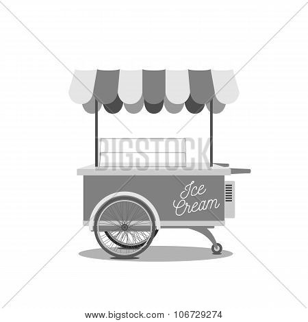 Vintage Ice-Cream Cart