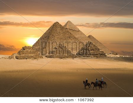 Pyramids Of Gizeh Fantasy