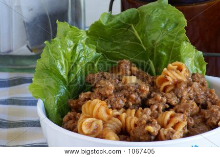 Meat And Pasta