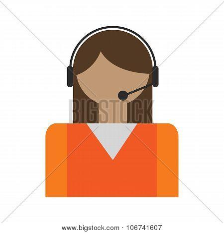 Call center operators avatar