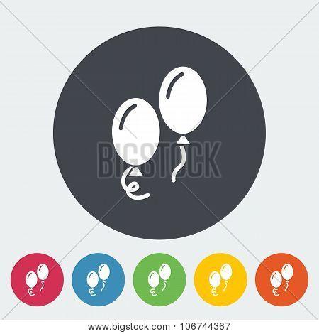 Ballon flat icon