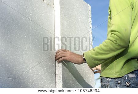 Insulation House With Foam Plastics