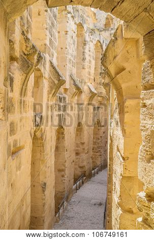 The Stone Beauty Of El Jem