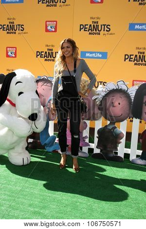 LOS ANGELES - NOV 1:  Jennifer Freeman at the
