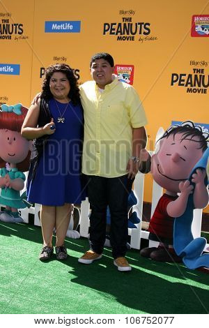 LOS ANGELES - NOV 1:  Raini Rodriguez, Rico Rodriguez at the