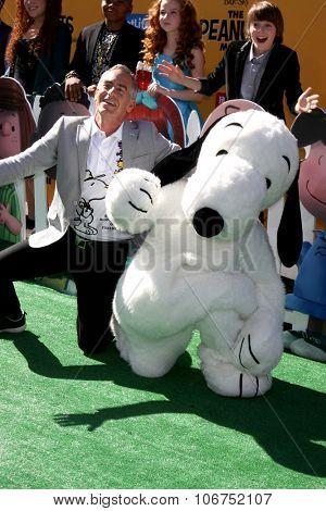 LOS ANGELES - NOV 1:  Steve Martino, Snoopy at the