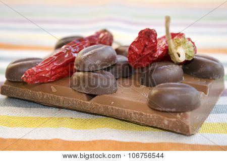 Chocolate And Chili Pepper