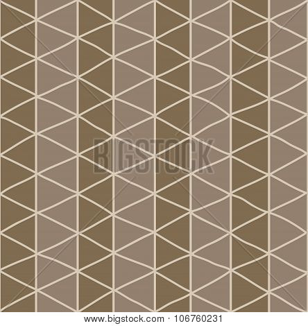 Seamless Pattern With Hand Drawn Line Grid Pattern