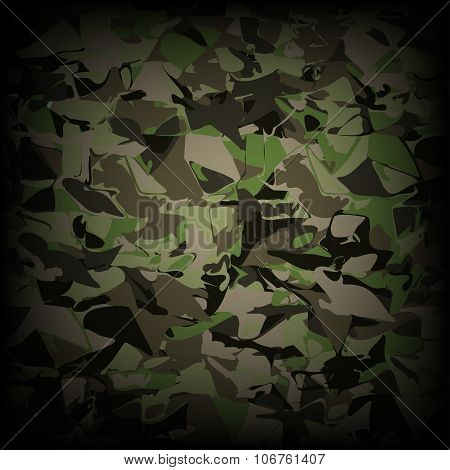 Camouflage military pattern  background. camouflage illustration.