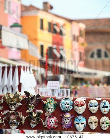 Máscaras de Carnaval Veneciano