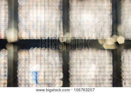 Glass Cubes Block