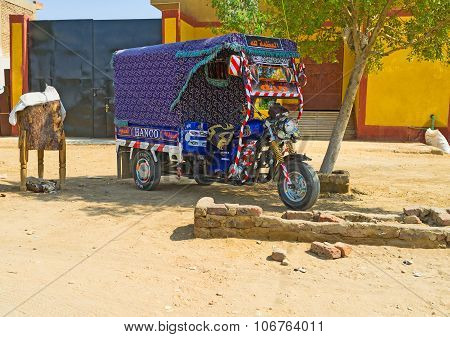 The Egyptian Transport