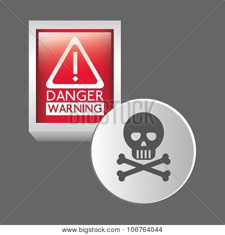 danger warning design