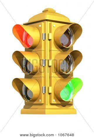 Vintage Traffic Signal