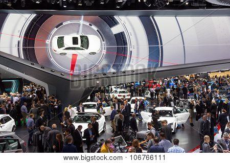 Frankfurt Crowd Iaa Audi