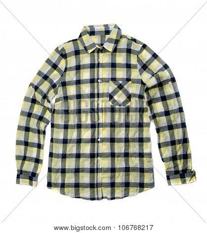 Yellow Checkered Shirt.