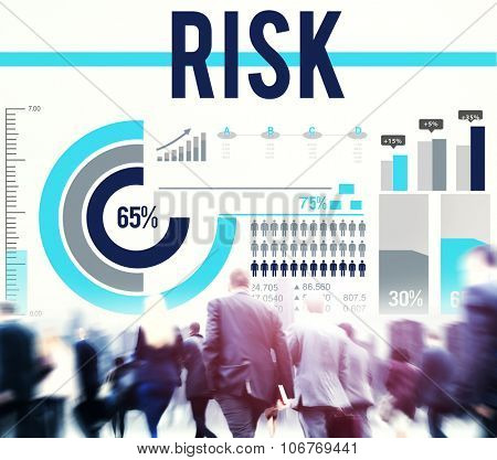 Risk Safety Finance Chance Investment Concept