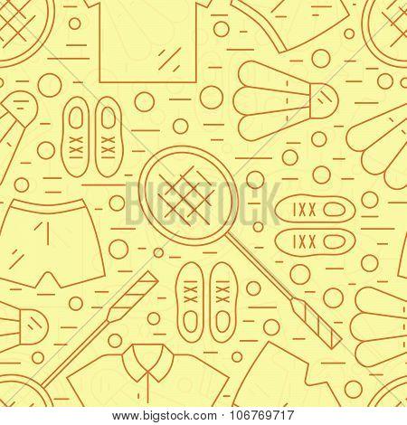 Badminton Pattern