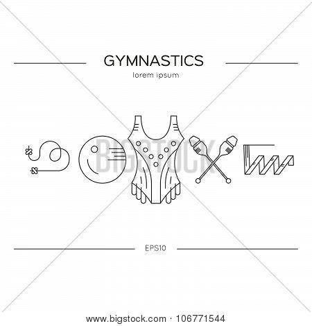 Gymnastics Flyer Concept