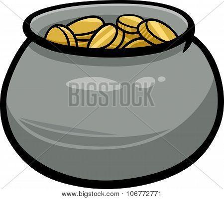 Pot Of Gold Cartoon