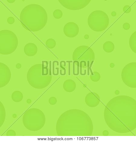 Green Abstract Vector Illustration For Background