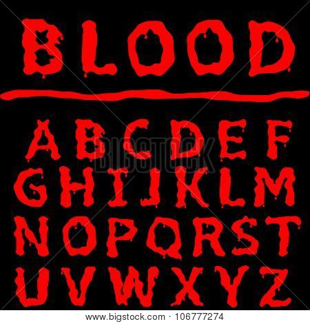 Blood letter set