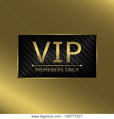 VIP business card