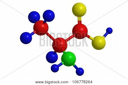 Molecular Structure Of Alanine