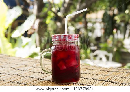 Iced Roselle Juice