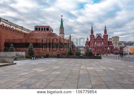 The Lenin Mausoleum