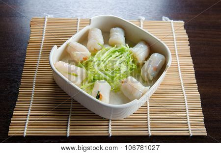 Mixed Vegetables Fish Ball